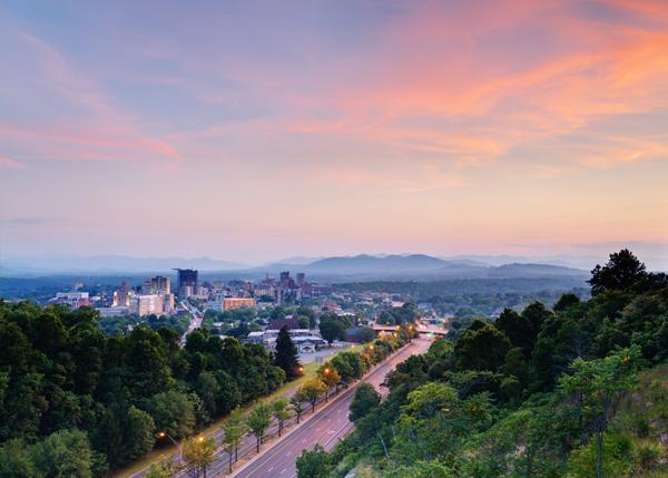 Asheville, NC Skyline