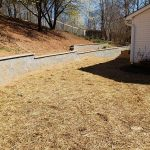 prevent soil erosion landscaping wall